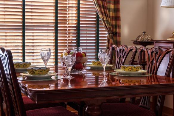 Como organizar um jantar em casa